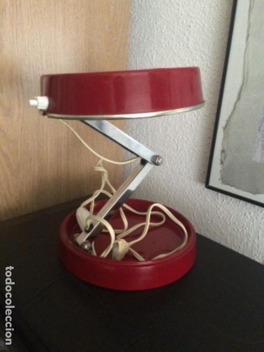 LÁMPARA PLEGABLE ESCRITORIO (Vintage - Lámparas, Apliques, Candelabros y Faroles)