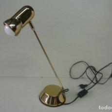 Vintage: LAMPARA DE SOBREMESA. DORADA. FASE. VINTAGE. Lote 155024222