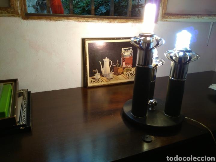 LAMPARA VINTAGE DE MESA (Vintage - Lámparas, Apliques, Candelabros y Faroles)