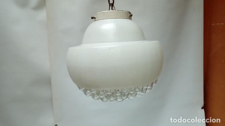 APLIQUE DE TECHO AÑOS 70- (Vintage - Lámparas, Apliques, Candelabros y Faroles)