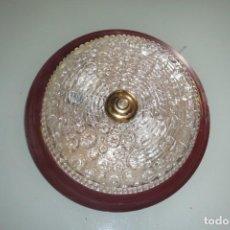 Vintage: PLAFON DE TECHO 2 LUCES VINTAGE. Lote 155795374