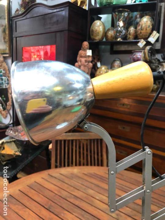 Vintage: FANTASTICA LAMPARA DE MESA EXTENSIBLE - VINTAGE - INDUSTRIAL - Foto 2 - 155823806