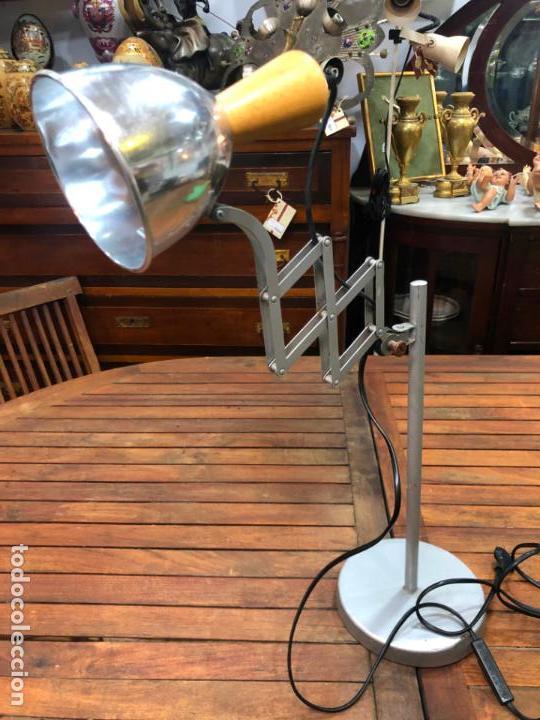 Vintage: FANTASTICA LAMPARA DE MESA EXTENSIBLE - VINTAGE - INDUSTRIAL - Foto 7 - 155823806