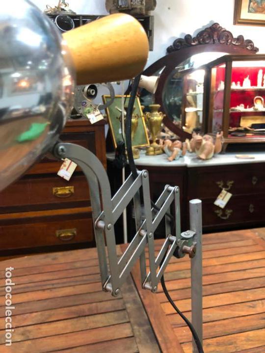 Vintage: FANTASTICA LAMPARA DE MESA EXTENSIBLE - VINTAGE - INDUSTRIAL - Foto 8 - 155823806