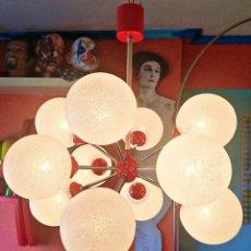 Vintage: LAMPARA DE TECHO SPUTNIK ORIGINAL AÑOS 70 RICHARD ESSIG DESIGN. Lote 157988498