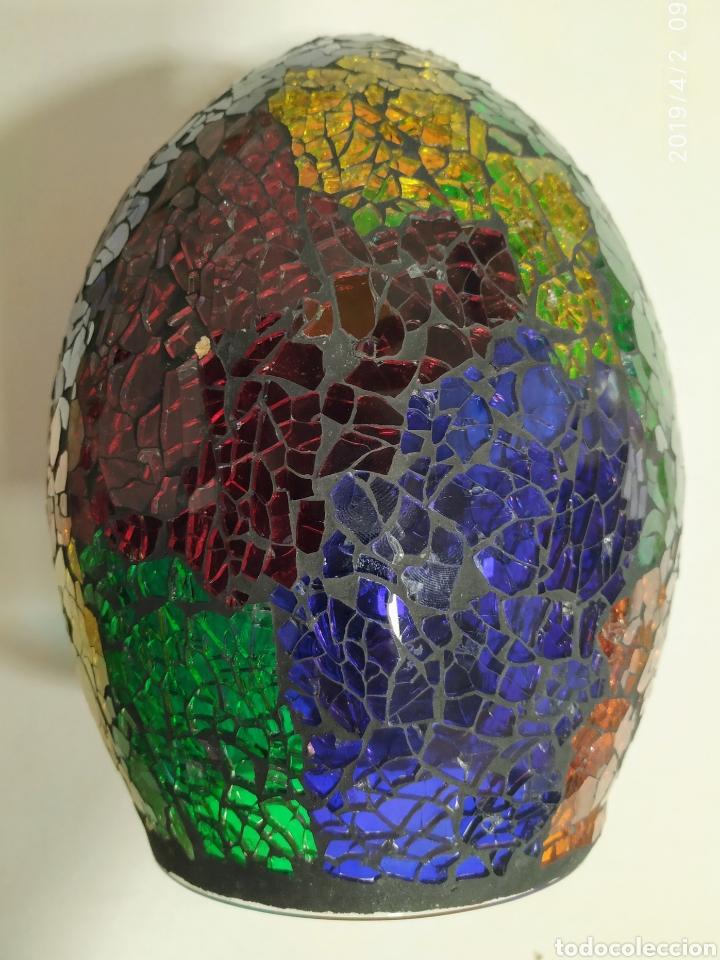 Vintage: Cristal lampara, Antiguo - Foto 2 - 158198192