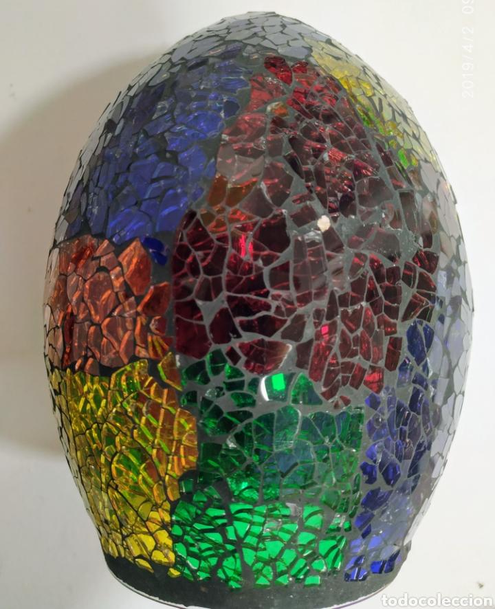 Vintage: Cristal lampara, Antiguo - Foto 3 - 158198192