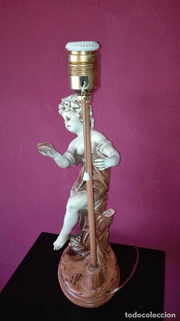 Vintage: LAMPARA SOBREMESA VINTAGE - Foto 4 - 158839834