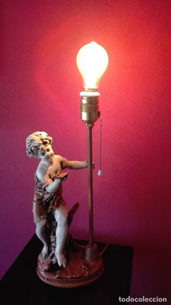 Vintage: LAMPARA SOBREMESA VINTAGE - Foto 14 - 158839834