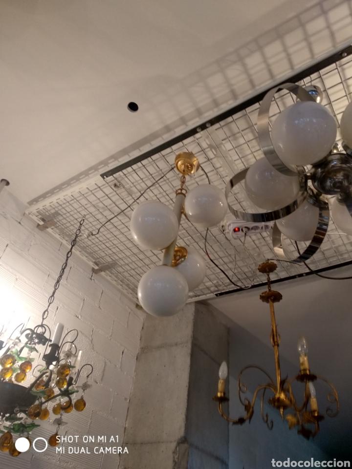 Vintage: Lampara cinco globos - Foto 2 - 158842154