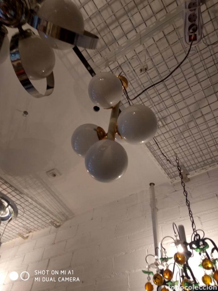 Vintage: Lampara cinco globos - Foto 4 - 158842154