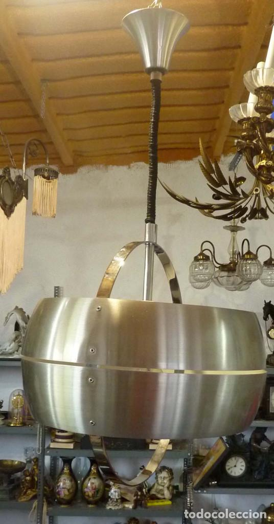 LAMPARA FRATELLI GIANNELLI DE TECHO (Vintage - Lámparas, Apliques, Candelabros y Faroles)