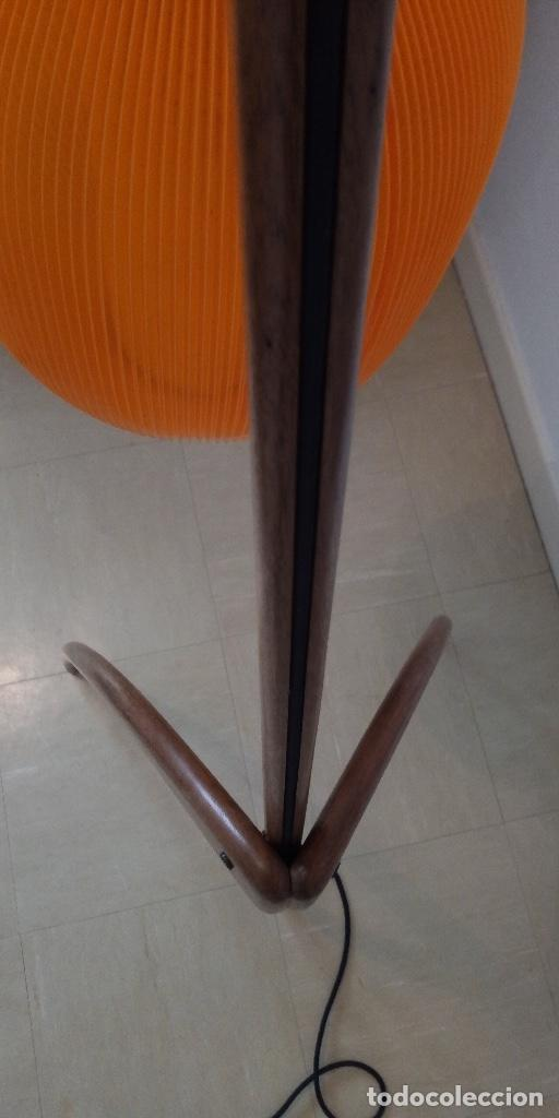 Vintage: lampara de diseño francés años 50 - Foto 6 - 159286522