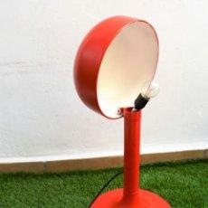 Vintage: LAMPARA DESPACHO SOBREMESA DE METAL SETA TULIP SPACE AGE - TIPO STILUX TRAMO 60`S. Lote 159354934