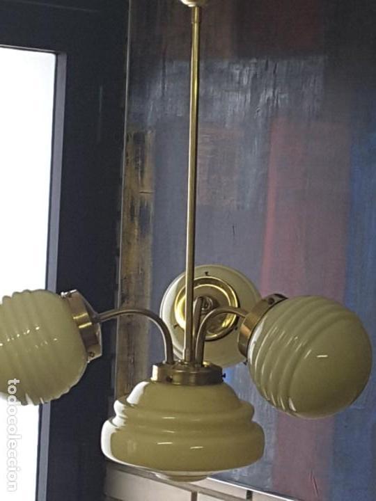 Vintage: Lámpara art deco - Foto 4 - 159656414