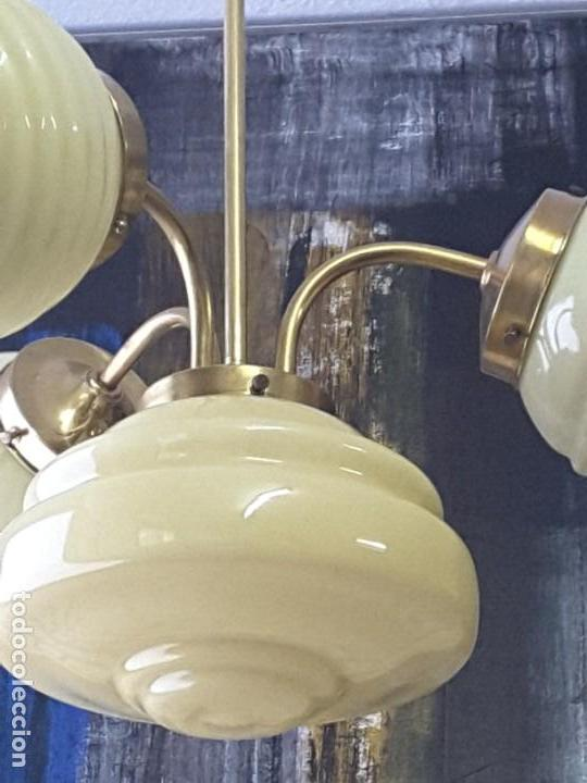 LÁMPARA ART DECO (Vintage - Lámparas, Apliques, Candelabros y Faroles)