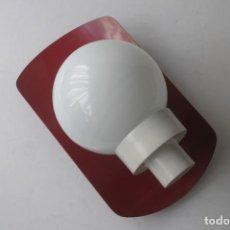 Vintage: LAMPARA APLIQUE DE METAL Y GLOBO. Lote 159767046