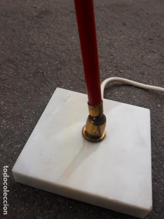 Vintage: Lámpara vintage años 50 Flexo STILUX para mesa escritorio mesilla noche pie de mármol - Foto 4 - 160339234