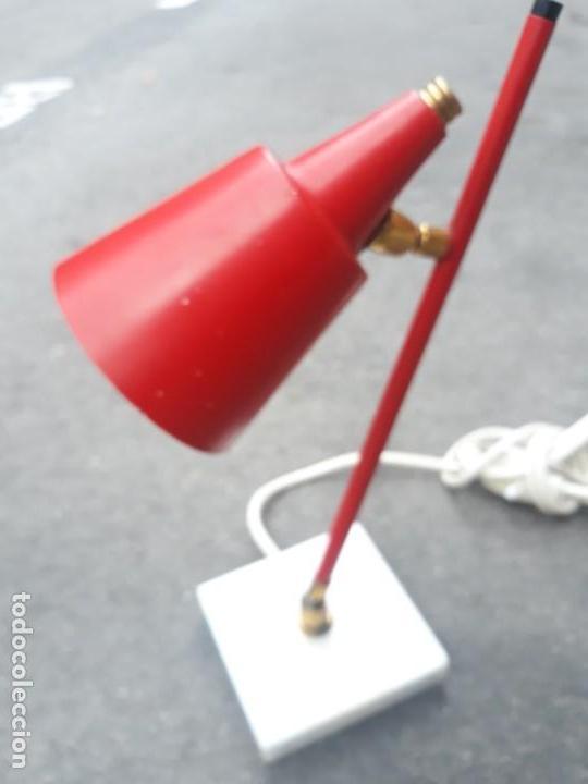 Vintage: Lámpara vintage años 50 Flexo STILUX para mesa escritorio mesilla noche pie de mármol - Foto 2 - 160339234