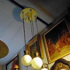 Vintage: LAMPARA DE TECHO AÑOS 60. Lote 160664714