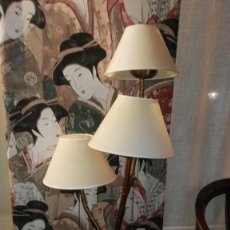 Vintage: LAMPARA TRES LUCES. Lote 160806926
