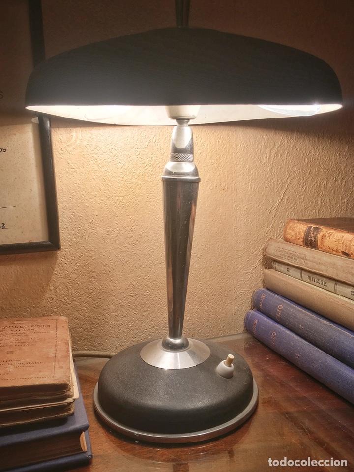 LAMPARA SOBREMESA AÑOS 50 (Vintage - Lámparas, Apliques, Candelabros y Faroles)