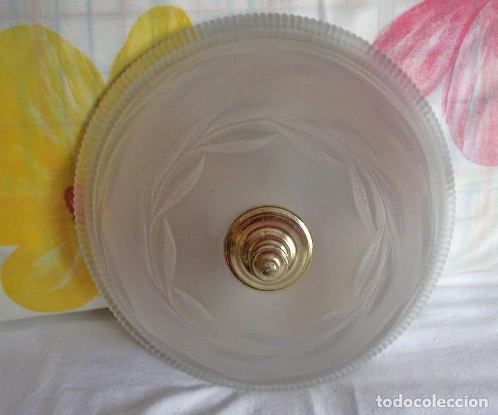 Vintage: LAMPARA FLORON DE TECHO AÑOS 70-80 - Foto 2 - 251919890