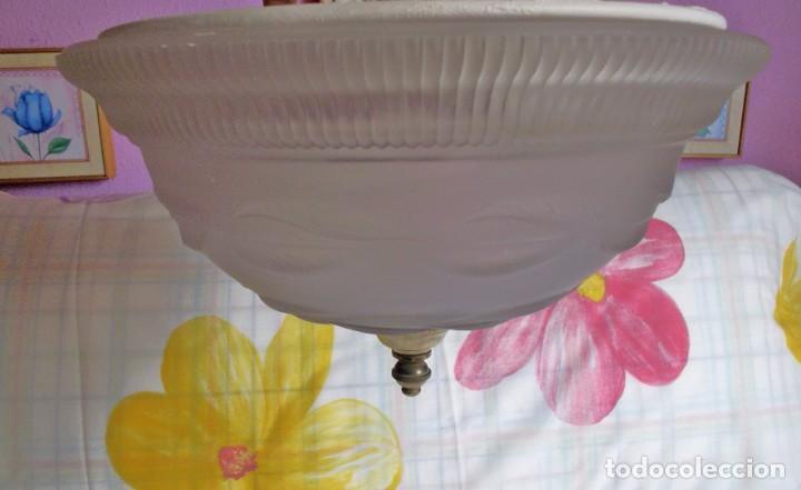 Vintage: LAMPARA FLORON DE TECHO AÑOS 70-80 - Foto 3 - 251919890