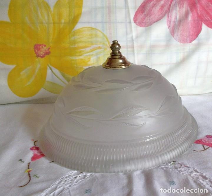Vintage: LAMPARA FLORON DE TECHO AÑOS 70-80 - Foto 4 - 251919890