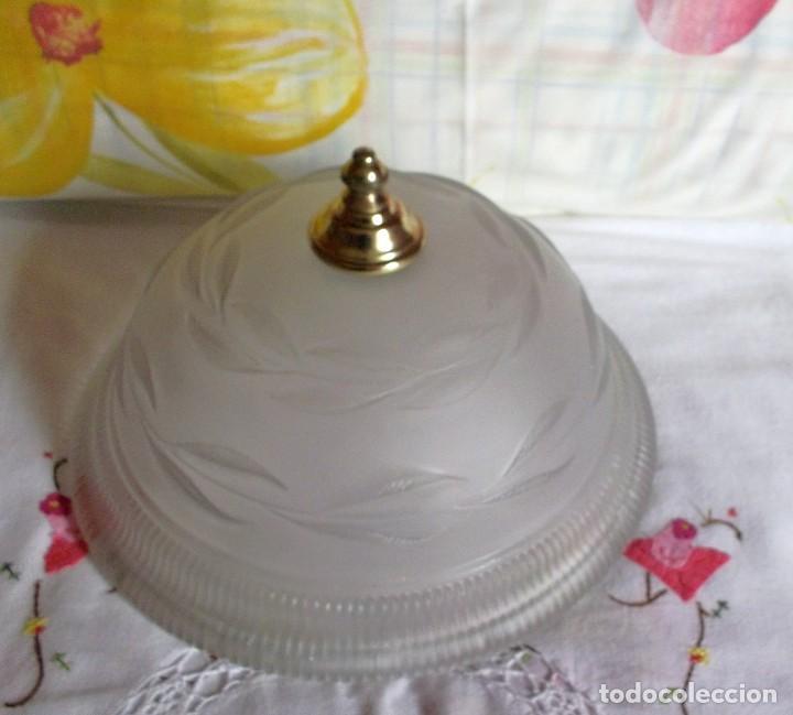 Vintage: LAMPARA FLORON DE TECHO AÑOS 70-80 - Foto 6 - 251919890