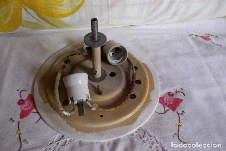 Vintage: LAMPARA FLORON DE TECHO AÑOS 70-80 - Foto 11 - 251919890