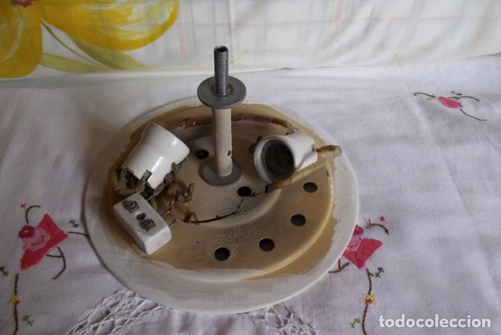 Vintage: LAMPARA FLORON DE TECHO AÑOS 70-80 - Foto 12 - 251919890