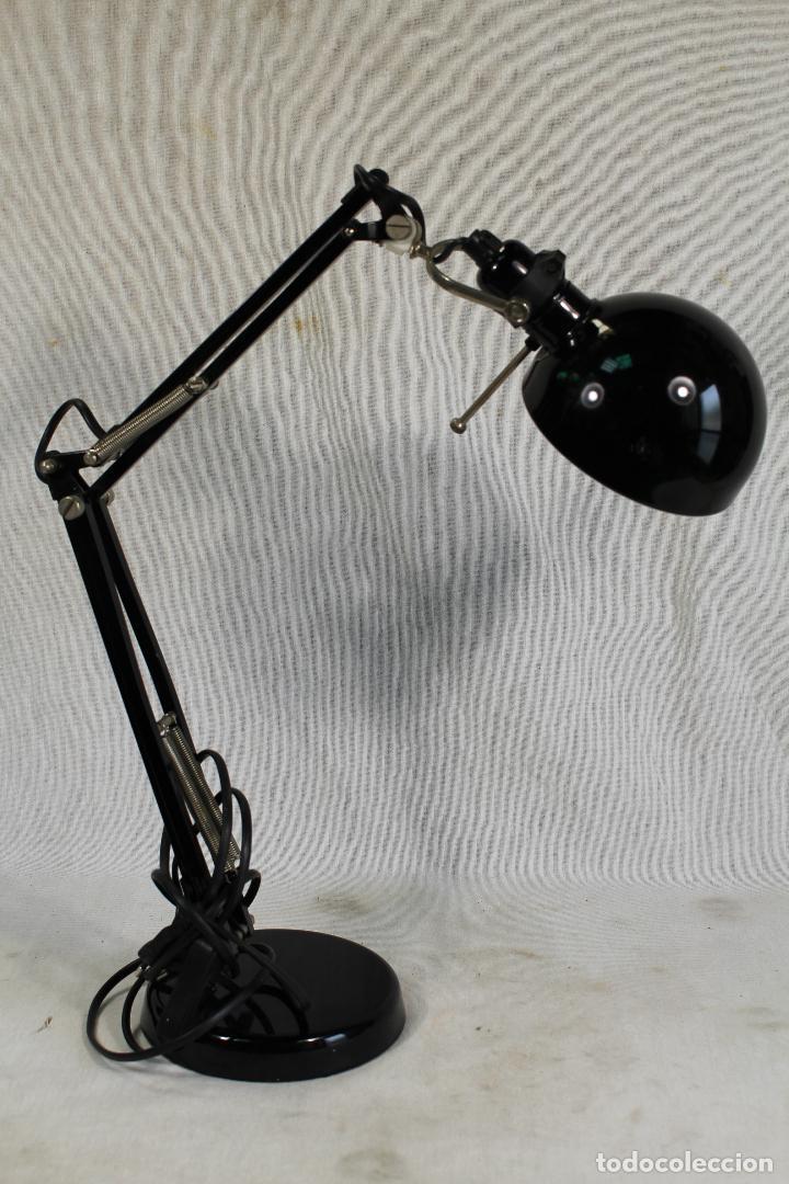 LAMPARA FLEXO DE SOBREMESA (Vintage - Lámparas, Apliques, Candelabros y Faroles)