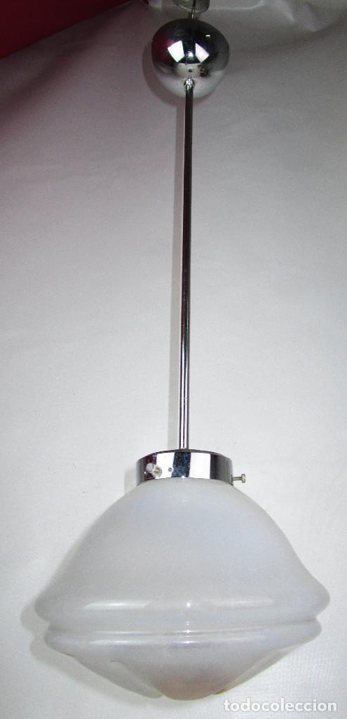 LAMPARA VINTAGE MURANO MAZZEGA MIDCENTURY (Vintage - Lámparas, Apliques, Candelabros y Faroles)