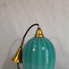Vintage: LÁMPARA DE LOS AÑOS 60 DE TULIPA DE CRISTAL TECHO DISEÑO VINTAGE . Lote 161980970