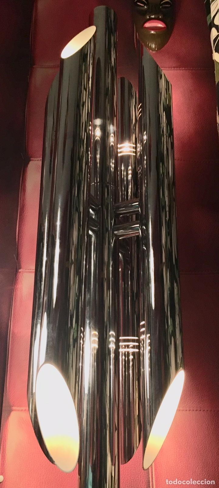 Vintage: LAMPARA SUELO FASE GRIN LUZ -SPACE AGE-LAMPARA GRIN LUZ DISEÑA LUIS PEREZ DE LA OLIVA - Foto 4 - 55373910
