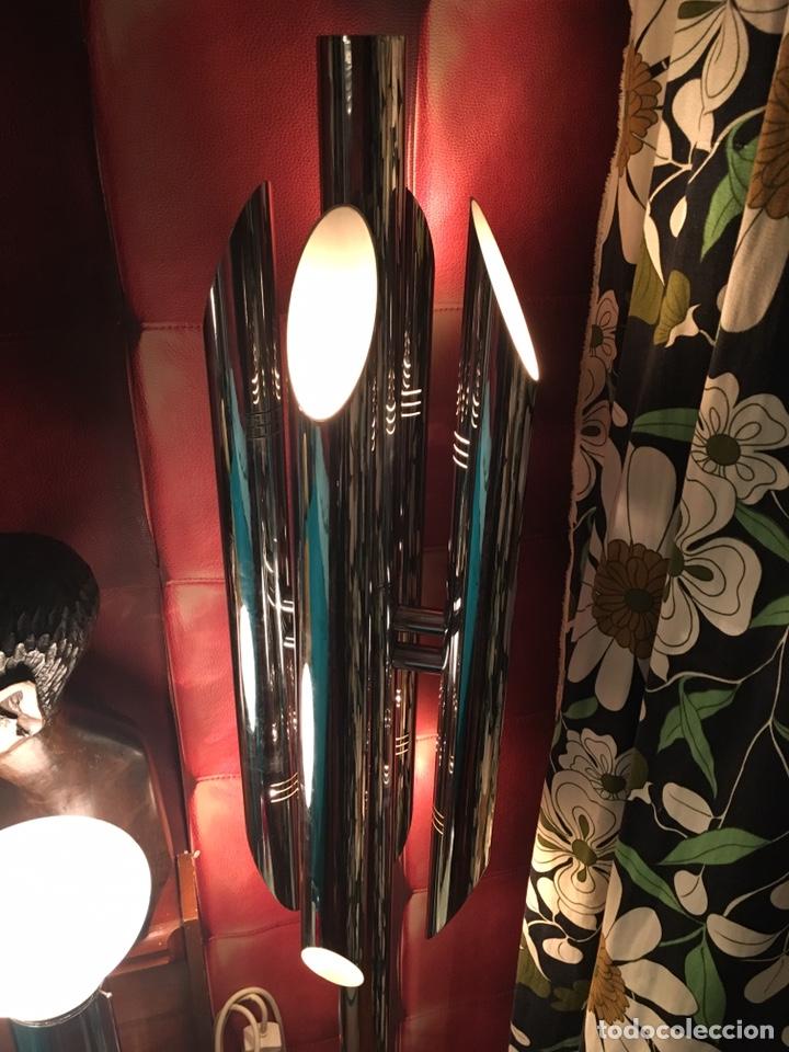 Vintage: LAMPARA SUELO FASE GRIN LUZ -SPACE AGE-LAMPARA GRIN LUZ DISEÑA LUIS PEREZ DE LA OLIVA - Foto 5 - 55373910