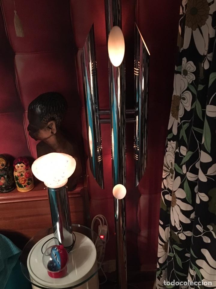 Vintage: LAMPARA SUELO FASE GRIN LUZ -SPACE AGE-LAMPARA GRIN LUZ DISEÑA LUIS PEREZ DE LA OLIVA - Foto 8 - 55373910
