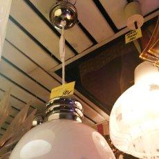Vintage: LAMPARA TECHO AÑOS 70 TULIPA MURANO MAZZEGA . Lote 163428946