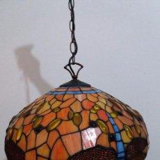 Vintage: LAMPARA ESTILO TIFFANY. Lote 103588479