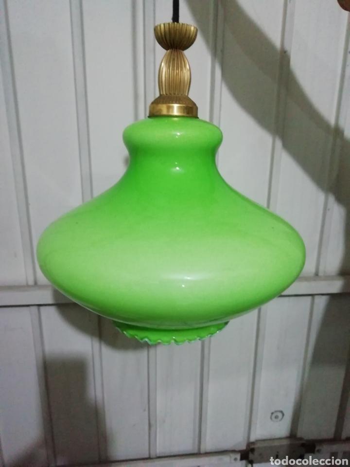 Vintage: Lámpara de Opalina - Foto 3 - 163526649