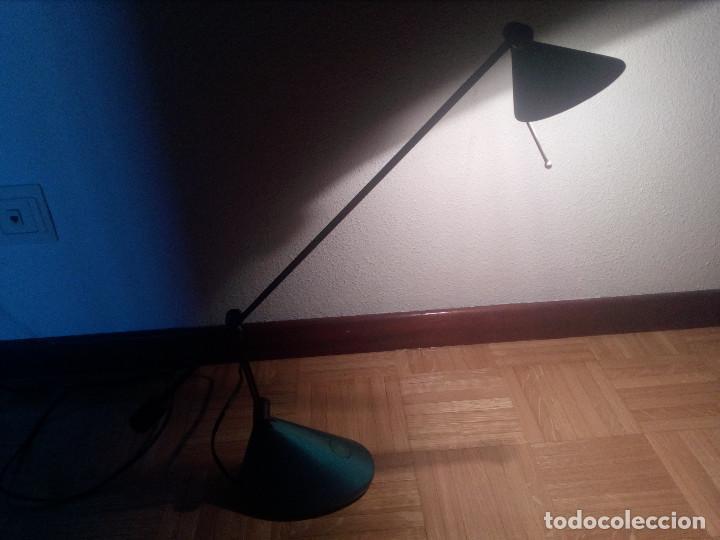 Vintage: Lampara halogeno,flexo de estudio,brazo regulable. - Foto 2 - 163554802