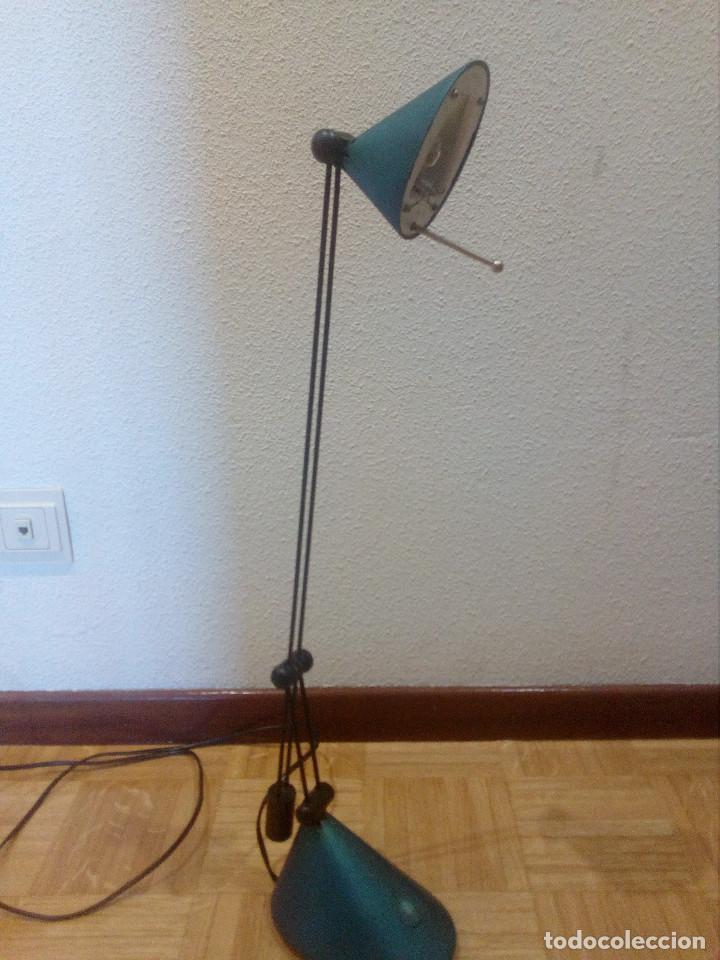 Vintage: Lampara halogeno,flexo de estudio,brazo regulable. - Foto 3 - 163554802