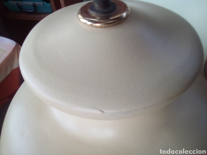 Vintage: Lámpara de pie en cerámica - Foto 6 - 163581482