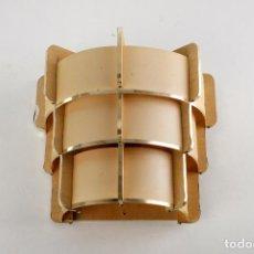 Vintage: 2 LAMPARA PARED MADERA APLIQUE ESTILO NORDICO PAREJA AÑOS 70 VINTAGE. Lote 163718034