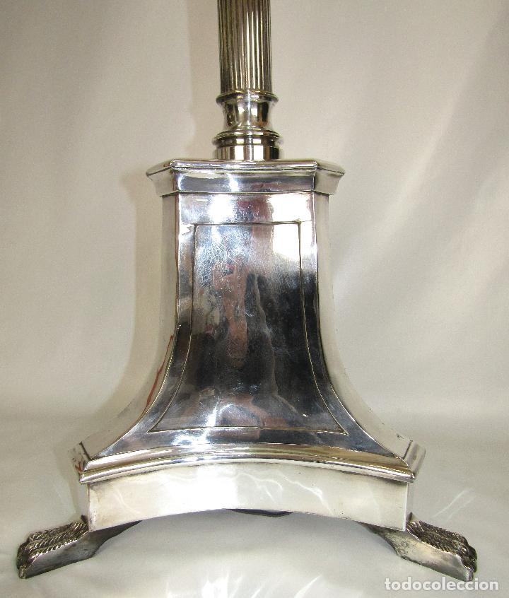 LÁMPARA DE PIE ESTILO NEOCLASICO ALMAZAN (Vintage - Lámparas, Apliques, Candelabros y Faroles)
