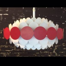 Vintage: LÁMPARA MIDCENTURY DORIA LEUCHTEN. Lote 163855321