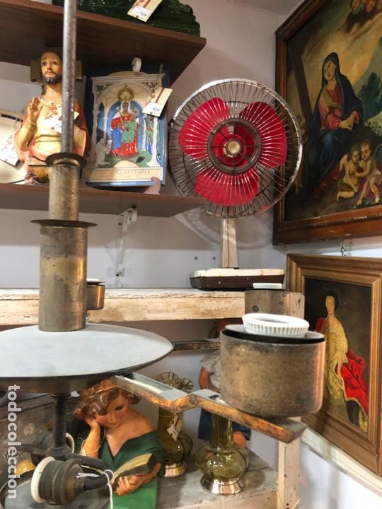 Vintage: ANTIGUA LAMPARA ART DECO - MEDIDA 117X67 CM - Foto 9 - 164196730