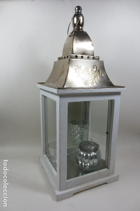 FAROL CANDELABRO (Vintage - Lámparas, Apliques, Candelabros y Faroles)