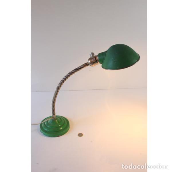 Vintage: Flexo vintage en color verde - Foto 7 - 164639534
